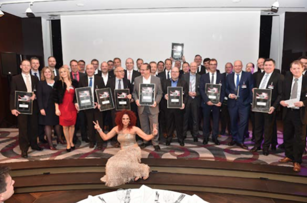 """Die Westcon Group Germany wurde von den Lesern der IT-Business mit dem """"IT-Business Distri Award Gold 2015/2016"""" in der Kategorie """"IT-Security & Netzwerktechnik"""" ausgezeichnet. - Bildnachweis: IT-Business"""