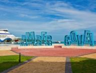 AIDA Premiere in der Dominikanischen Republik: AIDAvita macht erstmals am neuen Kreuzfahrtterminal Amber Cove fest