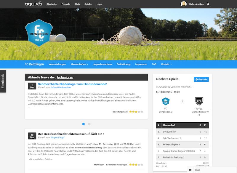 Bild von iXenso-Azubis entwickeln Club-Portal aquiXa für Vereine