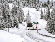 Busunternehmer sparen oft an Winterreifen