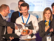 Die Gewinner des europaweiten Startup-Wettbewerbs Idea Challenge