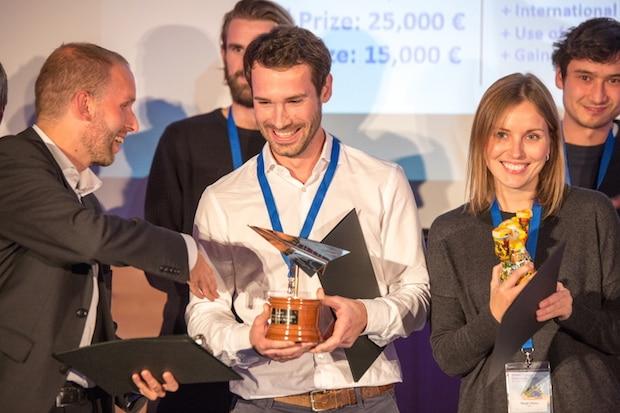 Bild von Die Gewinner des europaweiten Startup-Wettbewerbs Idea Challenge
