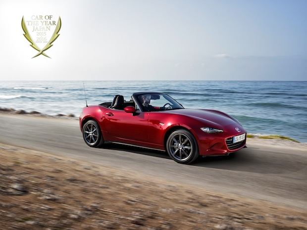 Photo of Mazda MX-5 ist Auto des Jahres in Japan
