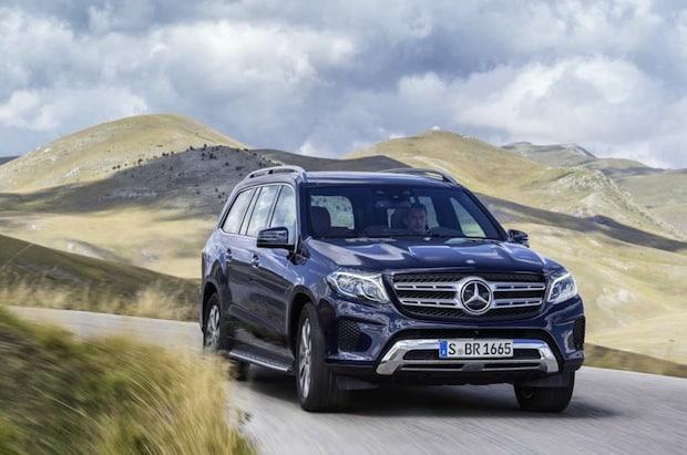 Photo of Mercedes-Benz GLS und V-Klasse sind Restwertriesen 2016
