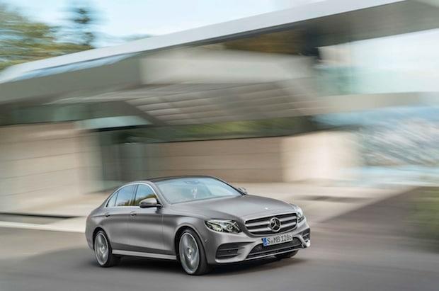 Bild von Business-Paket für die neue Mercedes-Benz E-Klasse