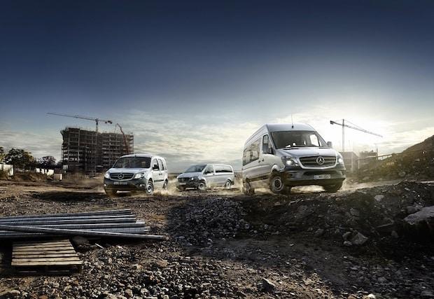 Bild von Mercedes-Benz Vans verkauft mehr Transporter als je zuvor