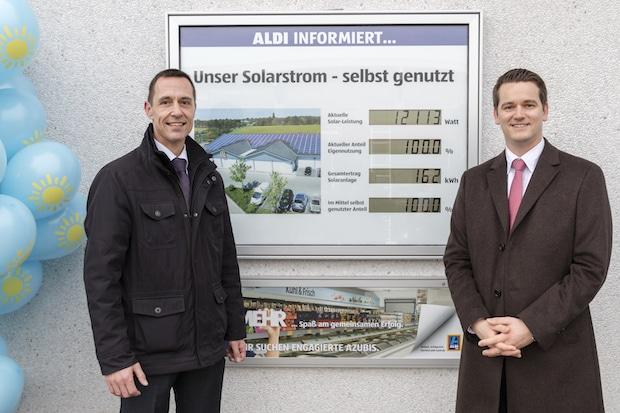 Photo of ALDI SÜD feiert das 1000. Solardach