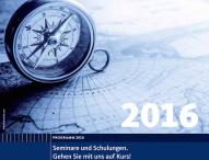 Qualifikation mit System – das Seminarprogramm 2016 von GU ist erschienen