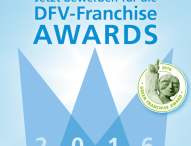 Bewerbungsstart für die DFV-Franchise Awards 2016