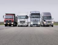 Daimler Trucks verkauft 2015 weltweit über 500.000 Lkw
