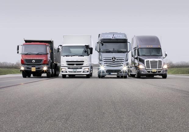 Bild von Daimler Trucks verkauft 2015 weltweit über 500.000 Lkw