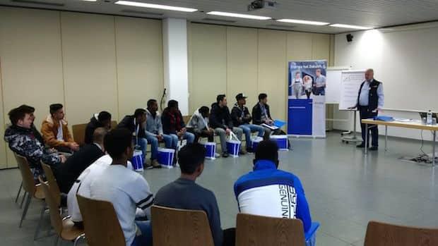 Bild von Berufsintegrationsprogramm für junge Flüchtlinge und Zuwanderer