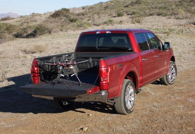 Bild von Ford fördert Entwicklung von Drohnen-Fahrzeug-Konzepten