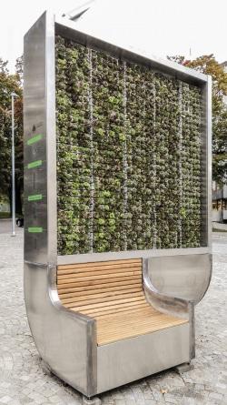 Der City Tree. - Quelle: Green City Solutions