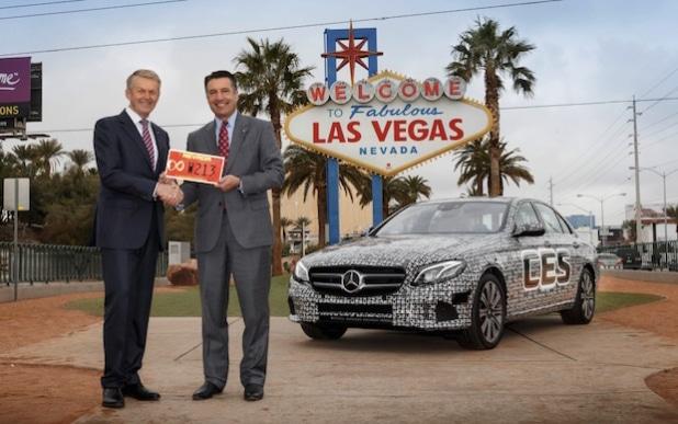 Mercedes-Benz E-Klasse: Autonom über die Highways im Bundesstaat Nevada - Quelle: Daimler AG