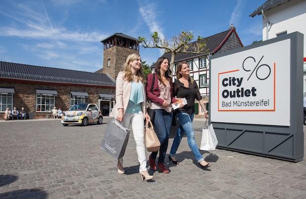 Bild von City Outlet Bad Münstereifel zieht positives Jahres-Resumée