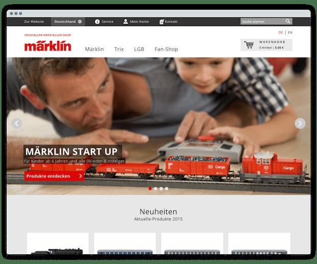 Photo of Märklin möchte mit Shopware wieder junge Zielgruppe anlocken