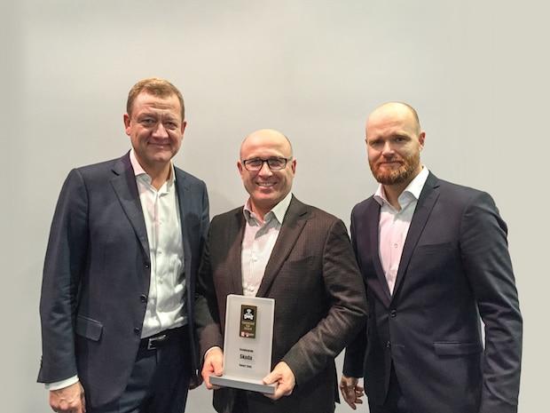 Photo of Connected Car Award für SKODA SmartGate