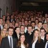 Teilnehmer des Arbeitskreistreffens des Bundesverbands Deutscher Studentischer Unternehmensberatungen e.V. an der Universität Regensburg (Foto: intouchCONSULT e.V.).