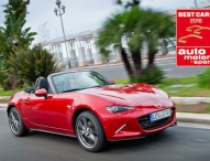 """Mazda MX-5 siegt bei Wahl der """"Best Cars 2016"""""""