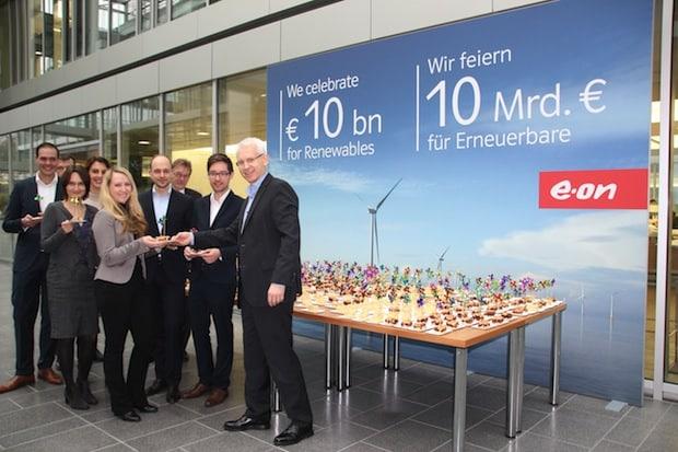 Bild von E.ON überspringt Marke von 10 Milliarden Euro bei Investitionen in Erneuerbare Energie