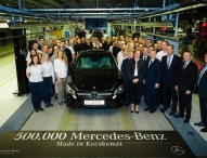 Mercedes-Benz Werk Kecskemét produziert das fünfhunderttausendste Fahrzeug