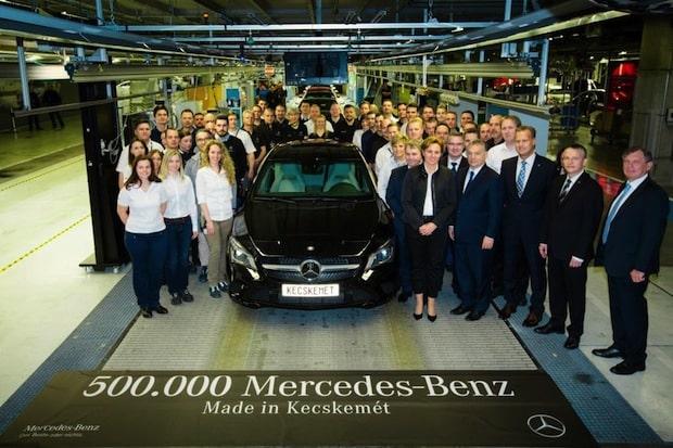 Photo of Mercedes-Benz Werk Kecskemét produziert das fünfhunderttausendste Fahrzeug