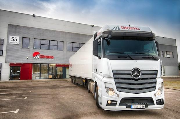 Bild von Großauftrag von Girteka Logistics über 1.000 Mercedes-Benz Actros