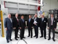 Neue Ofenhalle in Marktredwitz eingeweiht