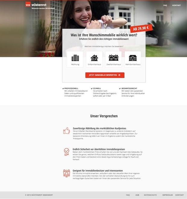 """Photo of Die neue Online-Plattform """"Wüstenrot Immowert"""" schafft Sicherheit vor überhöhten Immobilienpreisen"""