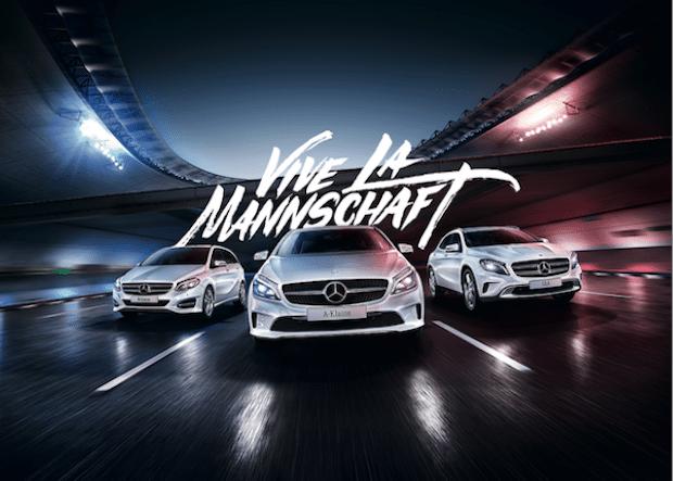 """Photo of """"Vive La Mannschaft"""": Mercedes-Benz startet Kampagne zur Europameisterschaft in Frankreich"""