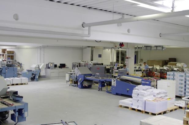 Hier wird nachhaltig gearbeitet und umweltschonend gedruckt. Foto: © DBM Druckhaus Berlin-Mitte GmbH