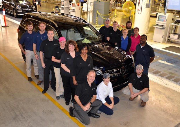 Photo of Mercedes-Benz Werk Tuscaloosa startet die Produktion des neuen GLS