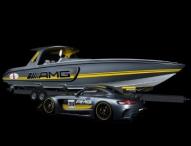 Zwei Kraftpakete zeigen sich auf der Miami International Boat Show