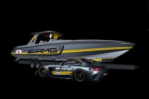 Bild von Zwei Kraftpakete zeigen sich auf der Miami International Boat Show