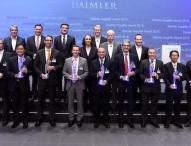 Daimler zeichnet zehn Lieferanten mit Supplier Award 2015 aus