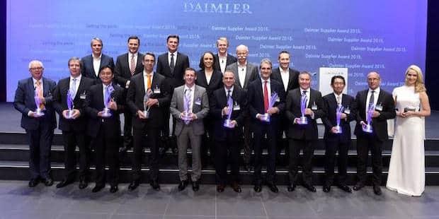 Bild von Daimler zeichnet zehn Lieferanten mit Supplier Award 2015 aus