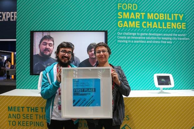 """Photo of Gewinner der von Ford ausgelobten """"Smart-Mobility Game Challenge"""""""