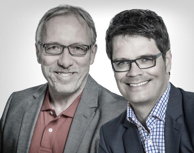 Klaus Weinberger (li.) und Markus Schaumlöffel (re.), beide proteco Geschäftsführer - Quelle: proteco marketing-service GmbH
