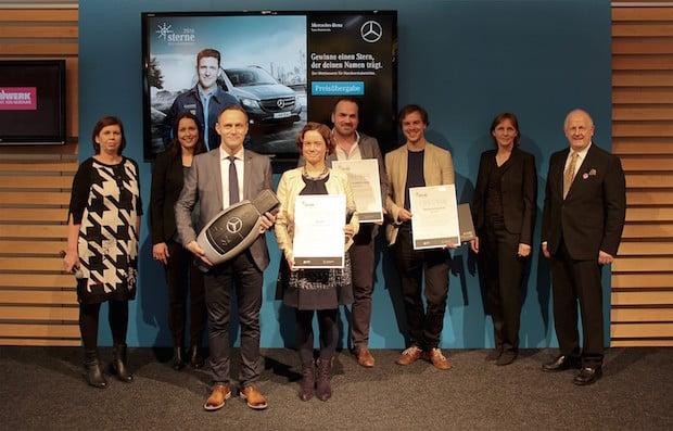 """Photo of Sieger beim Wettbewerb """"Sterne des Handwerks 2016"""""""