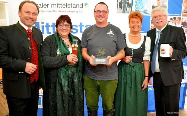 """Bild von Liberaler Mittelstand Bayern verleiht Unternehmerpreis: """"GipfelMut"""" für Giesinger Bräu"""