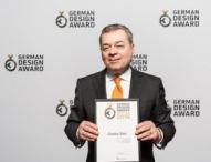 Preisverleihung an Kaffee Partner zum German Design Award 2016