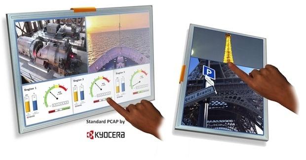 Photo of Kyocera präsentiert neue TFT-LCDs mit Projected Capacitive (PCAP) Touch Sensoren für industrielle Anwendungen