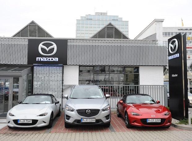 Bild von Rendite im Mazda Vertriebsnetz deutlich über dem Branchenschnitt