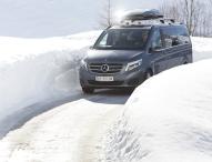 Mercedes-Benz Vans –  Beliebt: Die V-Klasse 4MATIC
