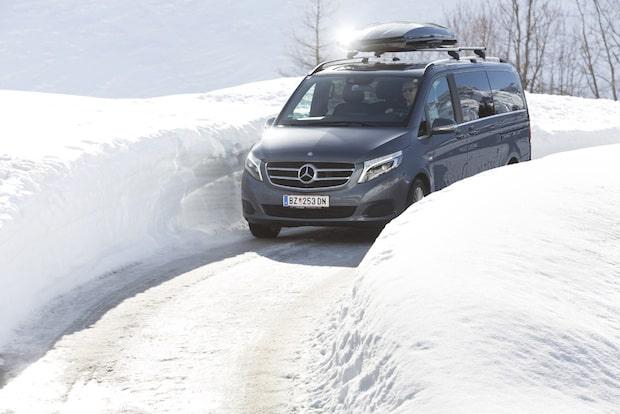 Bild von Mercedes-Benz Vans –  Beliebt: Die V-Klasse 4MATIC