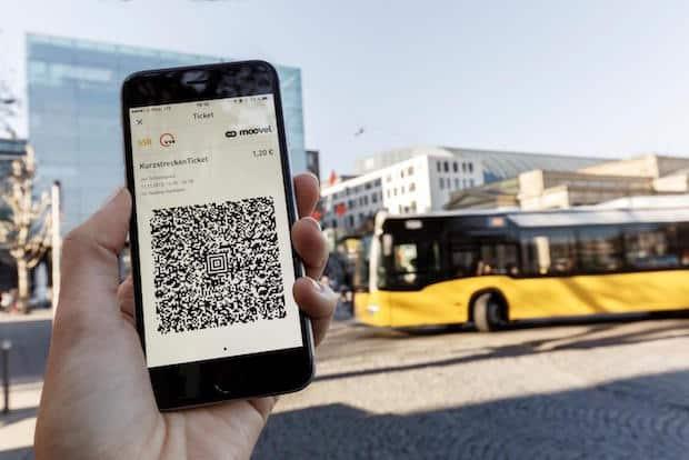 Bild von Zum halben Preis car2go fahren und VVS-Tickets über moovel buchen