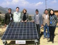 KYOCERA spendet Solaranlagen an Nepal