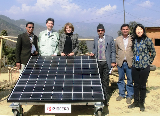 Photo of KYOCERA spendet Solaranlagen an Nepal
