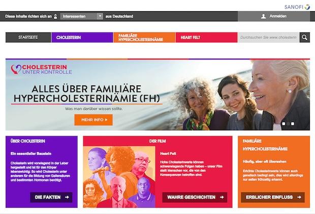 Photo of Neue Website für Patienten mit Hypercholesterinämie und deren Angehörige